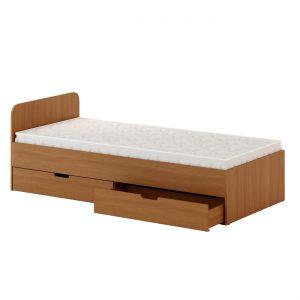 Кровать с ящиками 900